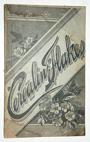 Cerealine - Cerealine Flakes cook-booklet (1886)