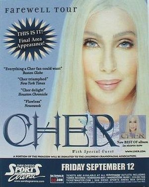 Living Proof: The Farewell Tour - Image: Cher lpft