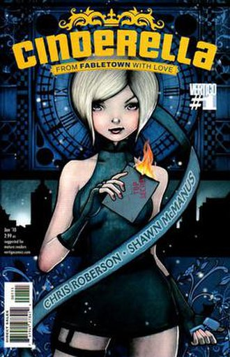 Cinderella: From Fabletown with Love - Image: Cinderella From Fabletown With Love 01