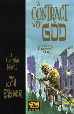 A book cover.  In the lower right, a man wearing a trenchcoat and hat climbs a staircase in heavy rain.
