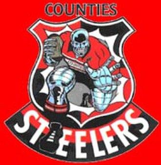 Counties Manukau Rugby Football Union - Counties Manukau Steelers former logo