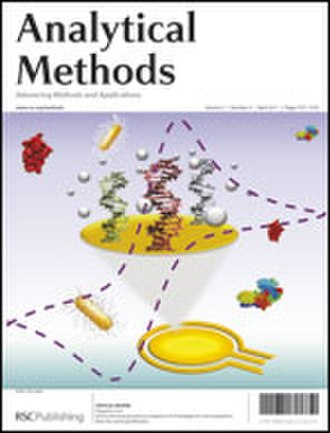 Analytical Methods (journal) - Image: Cover Issue Anal Methods