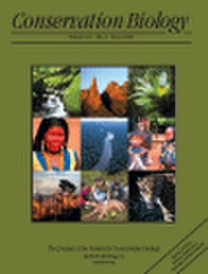 Conservation Biology (journal) - Image: Cover Issue Conservation Biology
