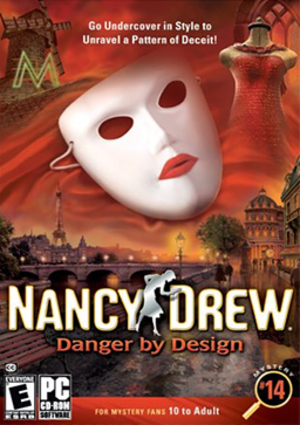 Nancy Drew: Danger by Design - Image: Danger By Design Coverart