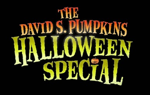 The David S. Pumpkins Halloween Special - Title card
