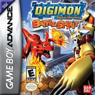 Digimon Battle Spirit - North American boxart