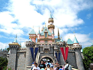 1955 in the United States - July 18: Disneyland opens to the public