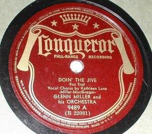 Doin' the Jive - Release on Conqueror Records, 1938.