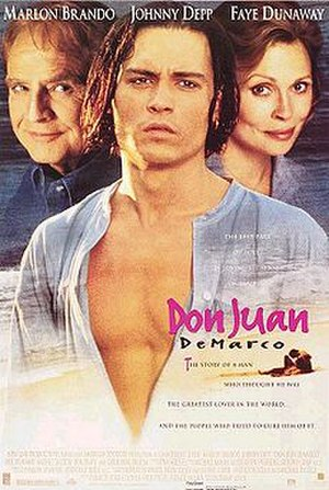 Don Juan DeMarco - Theatrical release poster