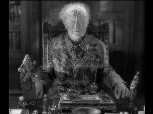 The Testament of Dr. Mabuse - A ghostly Dr. Mabuse announces his testament of crime. After the film's release, director Fritz Lang felt these supernatural scenes should not have been included.
