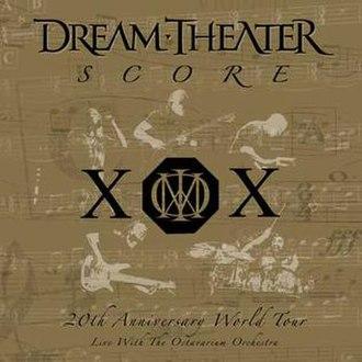 Score (Dream Theater album) - Image: Dt score cd