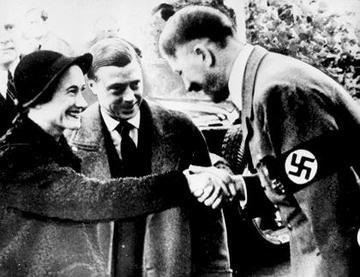 Duke and Duchess of Windsor meet Adolf Hitler 1937