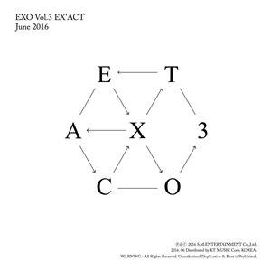 Ex'Act - Image: EXO EXACT cover
