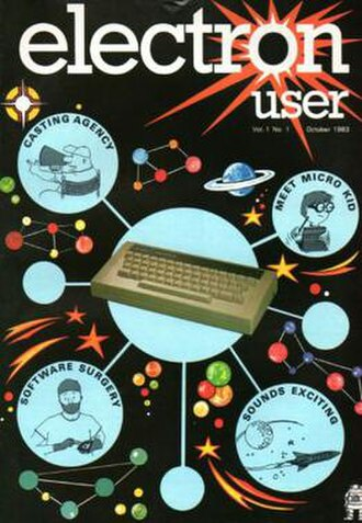 Electron User - First issue cover