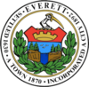 Official seal of Everett, Massachusetts, United States of America