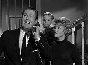 "Hazel (TV series) - Don DeFore, Bobby Buntrock, Whitney Blake from the first season episode, ""Hazel's Secret Wish"""