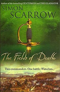 <i>The Fields of Death</i> book by Simon Scarrow