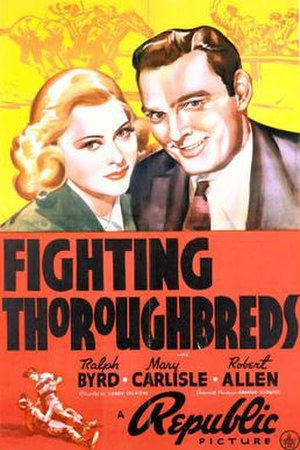 Fighting Thoroughbreds - Theatrical release poster