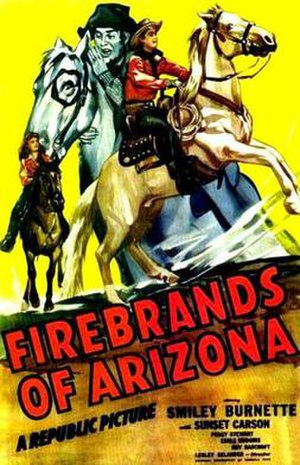 Firebrands of Arizona - Theatrical release poster