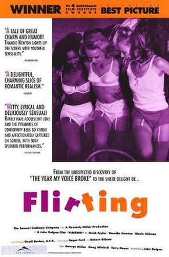 Flirting (film) - Theatrical release poster