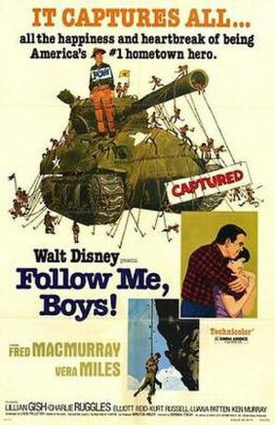 Picture of a movie: Follow Me, Boys!