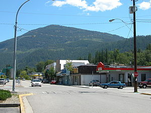 Fruitvale, British Columbia - Main Street, Fruitvale