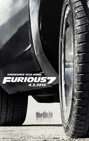 Furious 7 - Theatrical release poster