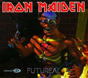 Futureal - Image: Futureal (Iron Maiden album cover art)
