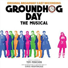 Groundhog Day The Musical Original Broadway Cast Recording cover.jpg