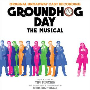 Groundhog Day (musical) - Image: Groundhog Day The Musical Original Broadway Cast Recording cover