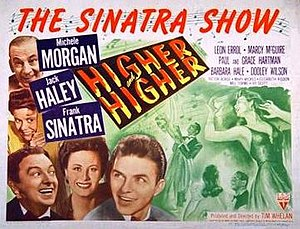 Higher and Higher (film) - Theatrical poster