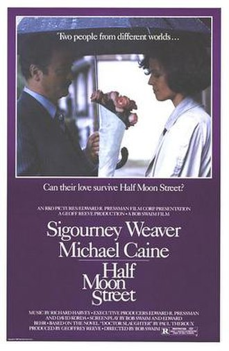 Half Moon Street (film) - Theatrical release poster