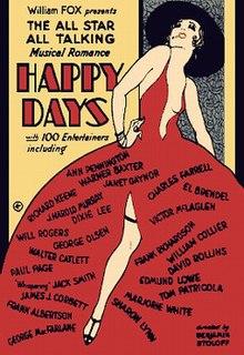 <i>Happy Days</i> (1929 film) 1929 film