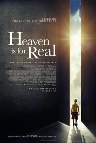 Heaven Is for Real (film) - Theatrical release poster