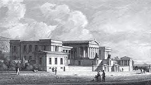 Old Royal High School - The Royal High School in 1829