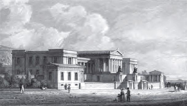 High School, Calton Hill, 1829
