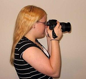 Holding a DSLR Camera