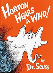 Horton Hears a Who! book cover