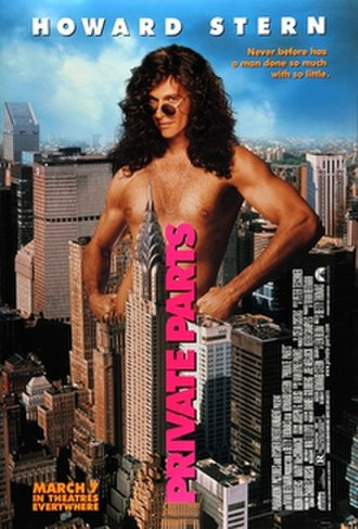 Private Parts (1997 film) - Theatrical release poster