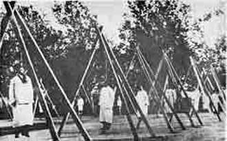 Social Democrat Hunchakian Party - Hunchakian leaders hanged during the Armenian Genocide