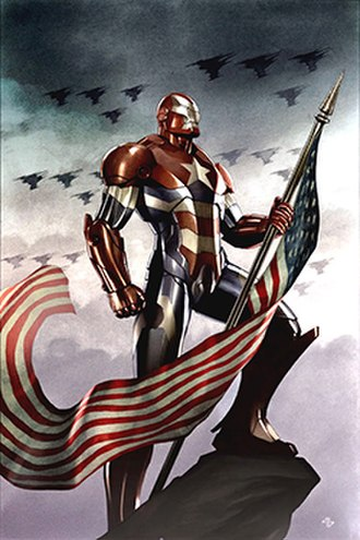 Norman Osborn - Norman Osborn as the Iron Patriot
