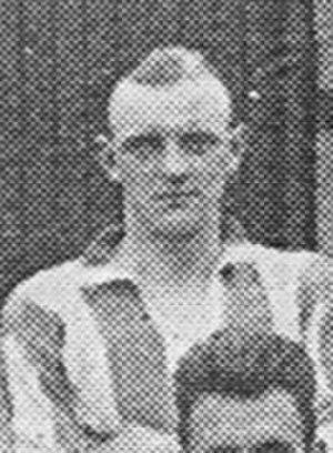 Jack Beacham - Beacham while with Brentford in 1926.