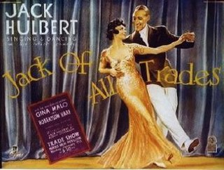 <i>Jack of All Trades</i> (1936 film) 1936 film by Jack Hulbert, Robert Stevenson