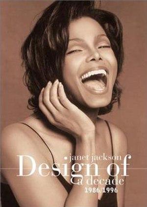 Design of a Decade: 1986–1996 (video) - Image: Janet jackson design of a decde video cover