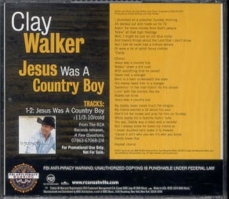 Jesus Was a Country Boy - Image: Jesus Was a Country Boy