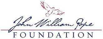 John William Pope Foundation - Image: John William Pope Foundation logo