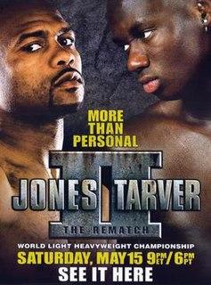 Roy Jones Jr. vs. Antonio Tarver II Boxing competition