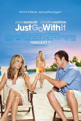 Just Go with It - Theatrical release poster