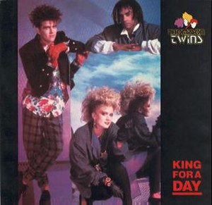 King for a Day (Thompson Twins song) - Image: KFADUS7
