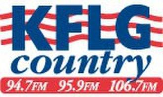 KFLG-FM - Image: KFLG country 94.7 95.9 106.7 logo